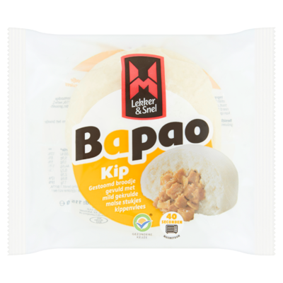 Lekker & Snel Bapao Kip 115 g