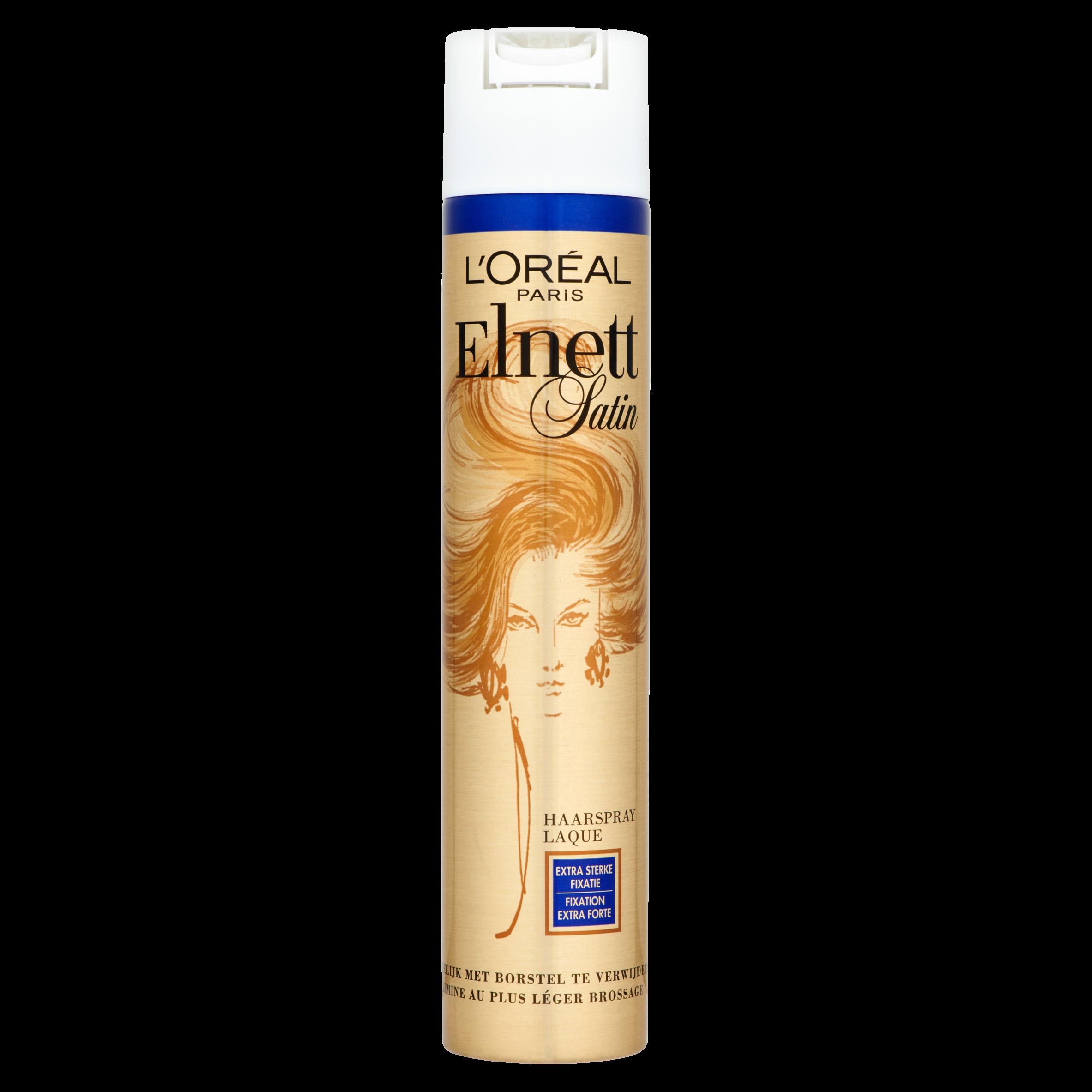 L'Oréal Paris Elnett Satin Haarspray Extra Sterke Fixatie 300 ml