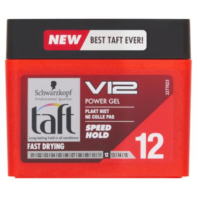 Schwarzkopf Taft V12 Level 12 Power Gel Kubus 250 ml
