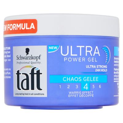 Schwarzkopf Taft Ultra Chaos Gelee Extra Strong Gel 200 ml