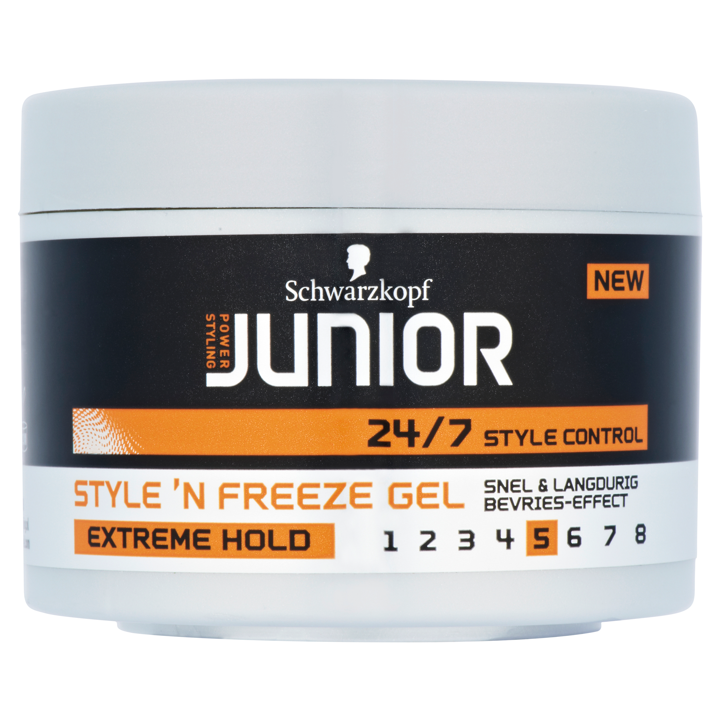 Junior Power Styling Style 'n Freeze Gel Extreme Hold 200 ml