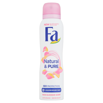 Fa Natural & Pure Rose 48u Deodorant Spray 150 ml