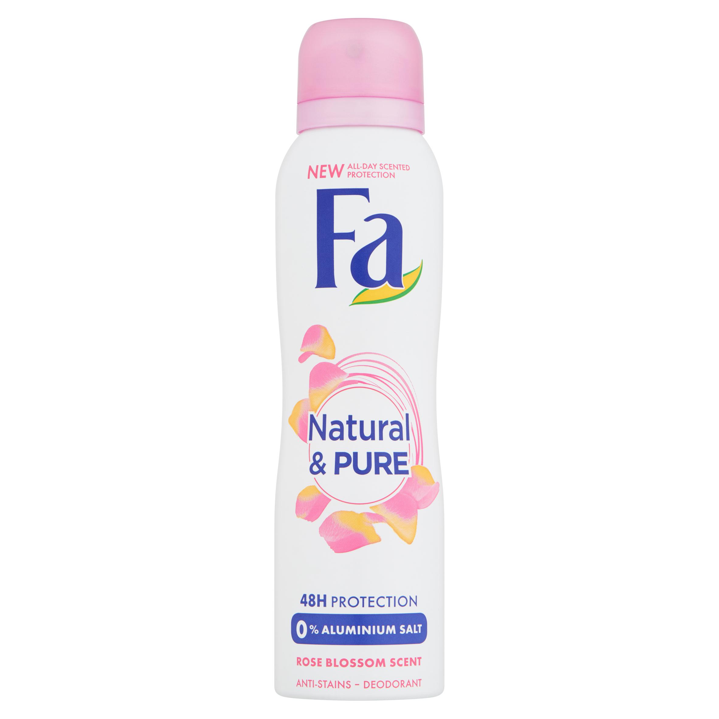 Fa Natural & Pure Rose 48u Deodorant Spray 150 ml