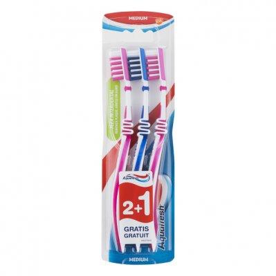 Aquafresh Clean&flex medium tandenborstel