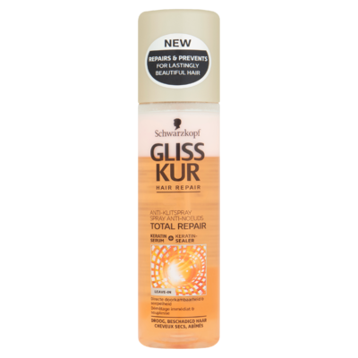 Schwarzkopf Gliss Kur Total Repair Anti-Klit Spray 200 ml