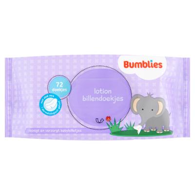 Bumblies Billendoekjes Lotion 72 Stuks