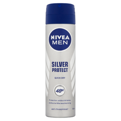 NIVEA MEN Deodorant Spray Silver Protect 150 ml