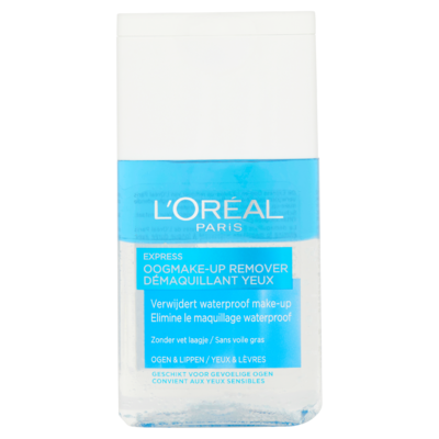 L'Oréal Paris Express Oogmake-Up Remover 125 ml