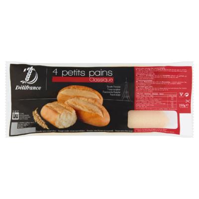 Délifrance Petits Pains 4 x 62,5 g