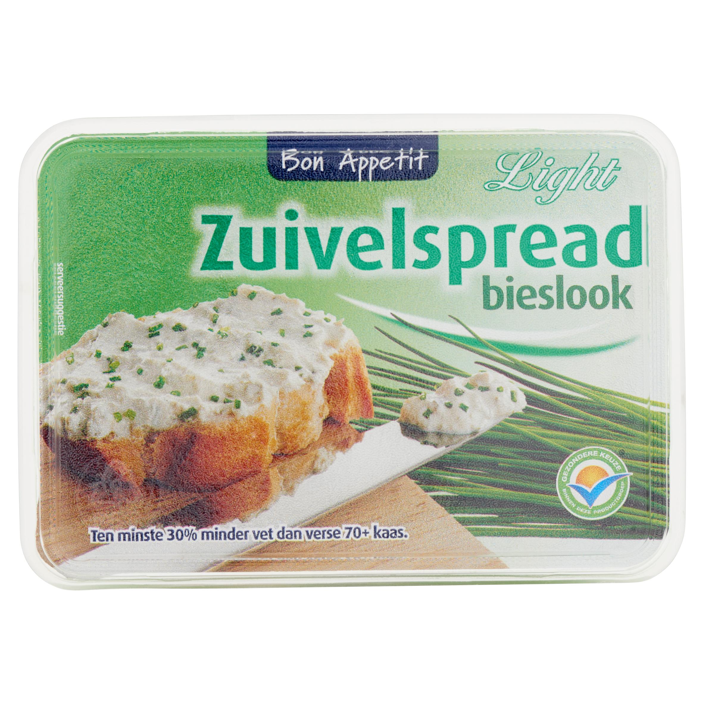 Bon Appetit Zuivelspread Bieslook Light 200 g
