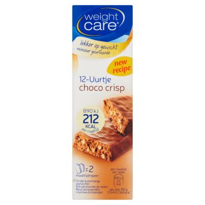 Weight Care 12-Uurtje Choco Crisp 2 x 58 g