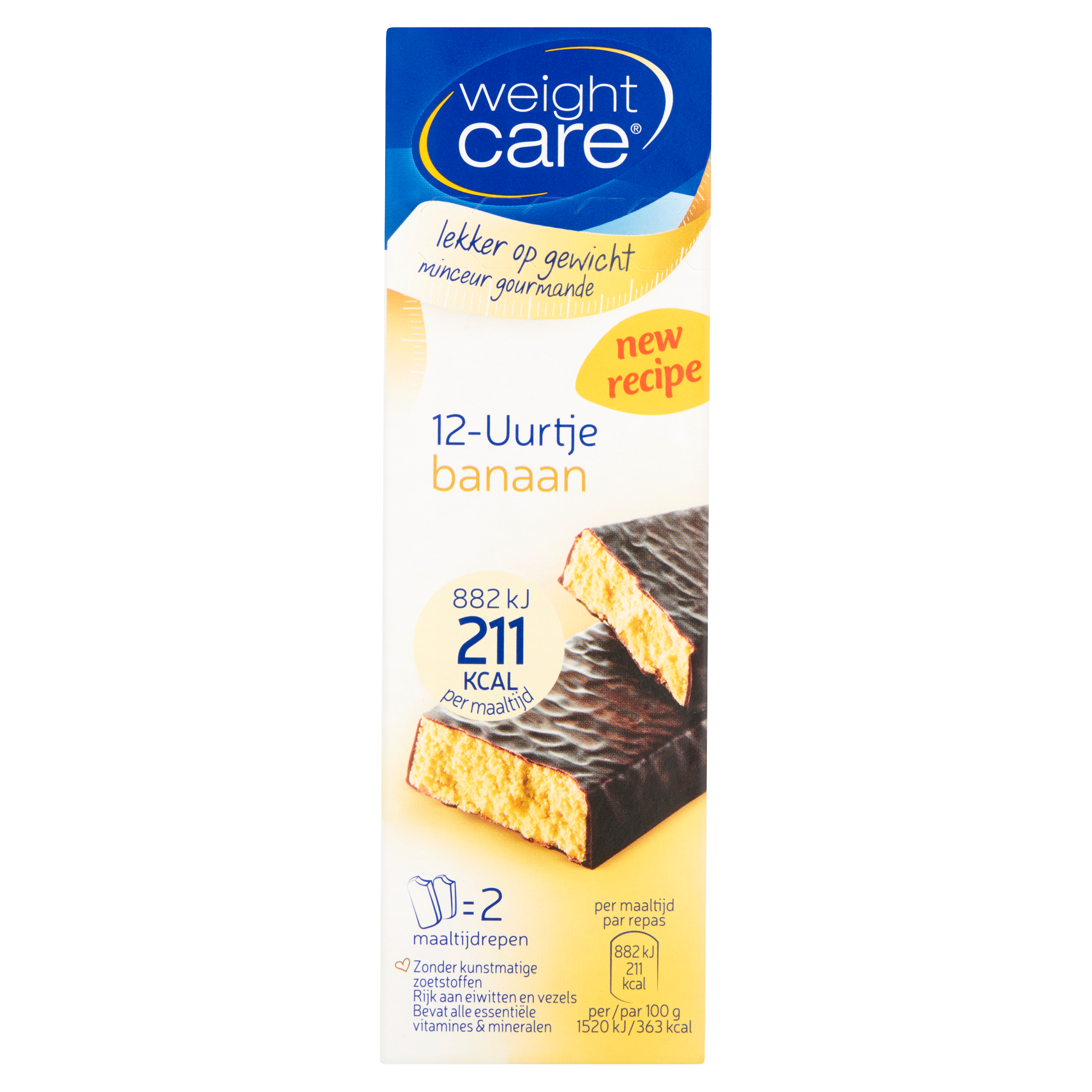 Weight Care 12-Uurtje Banaan 2 x 58 g