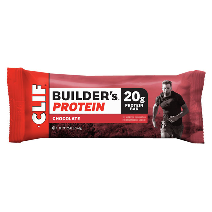 Clif Bar Builder's protein chocolate