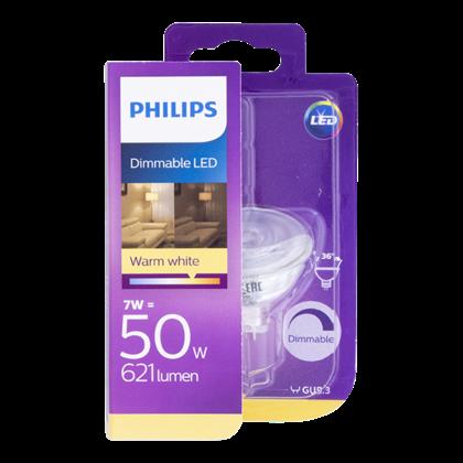 Philips Lamp LED 50W MR 16 WW 36D