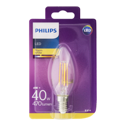 Philips Lamp LED classic 40W kleine fitting
