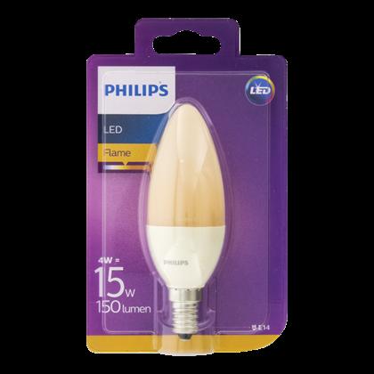 Philips Lamp LEDFlame 15W B38 E14 230V