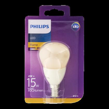 Philips Lamp LEDFlame 15W P48 E14 230V