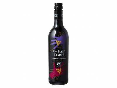 It's a Fairtrade Cabernet sauvignon