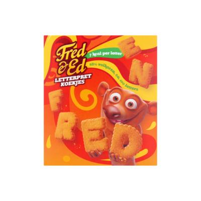 Fred & Ed Letterpret Koekjes