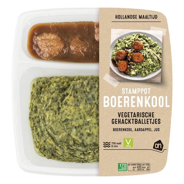 Huismerk Boerenkool gehaktbal vegetarische slager
