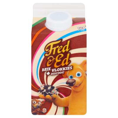 Fred & Ed Chocoladevlokken vlokkies mix