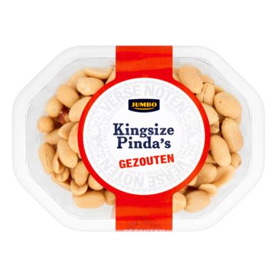 Huismerk Kingsize Pinda's Gezouten