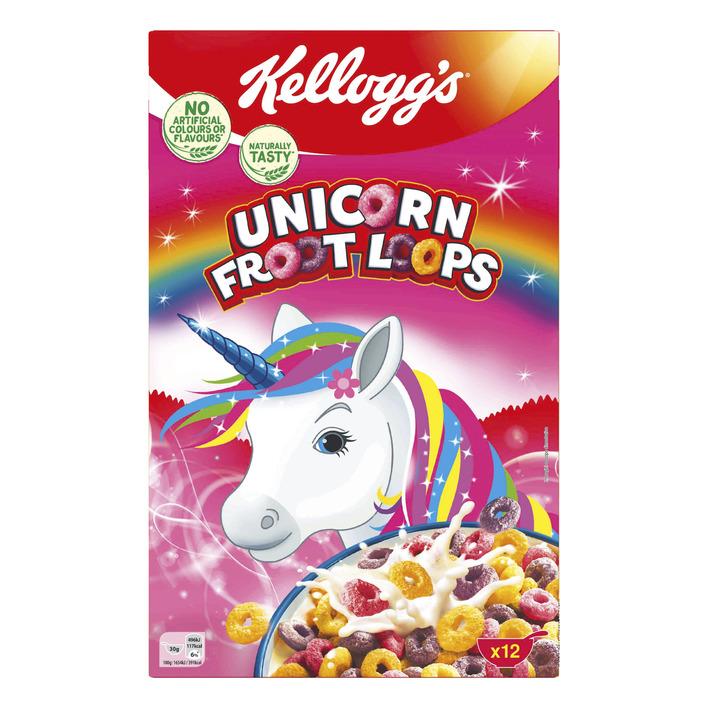 Kellogg's Frootloops unicorn