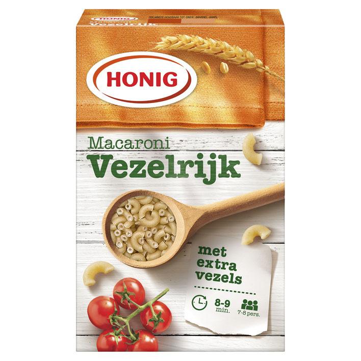 Honig Macaroni vezelrijk