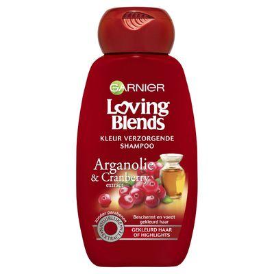 Garnier Loving Blends Shampoo Argan&cranberry