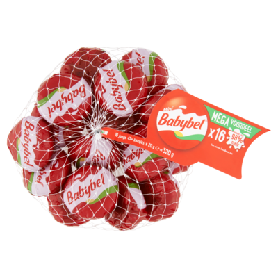 Mini Babybel Mini babybel 16 stuks