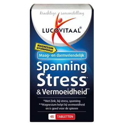 Lucovitaal Spanning, stress & vermoeidheid