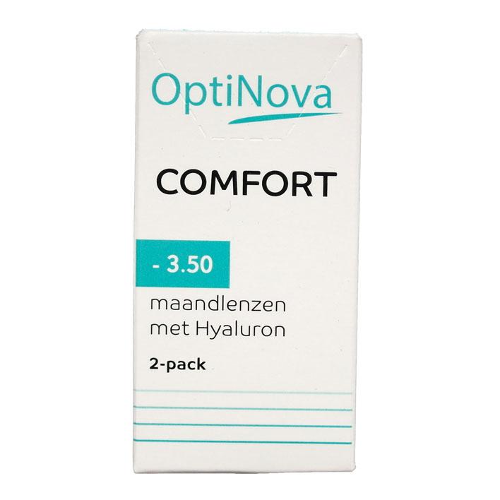 OptiNova Comfort maandlenzen hyaluron -3,50