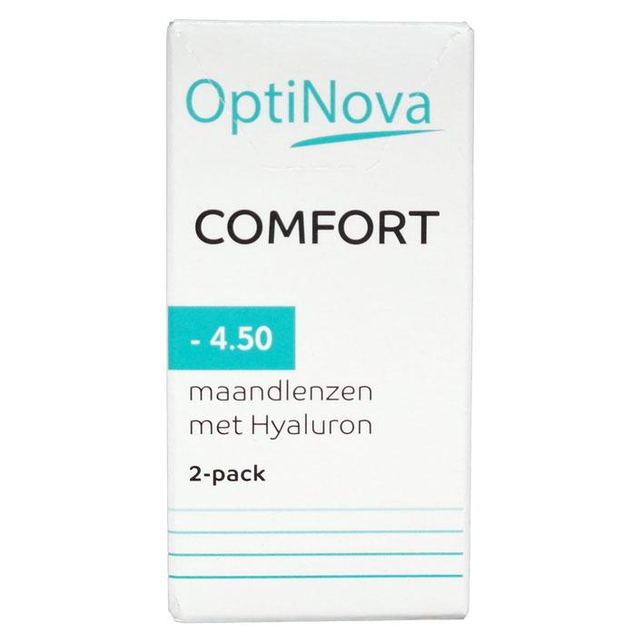 OptiNova Comfort maandlenzen hyaluron -4,50
