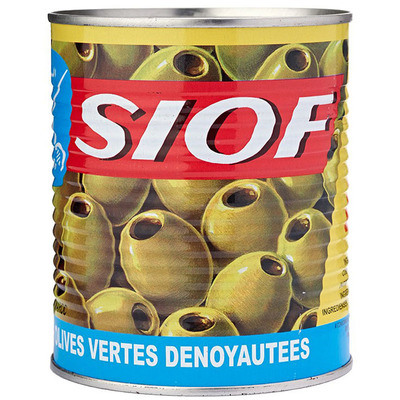 Siof Green olives without pit