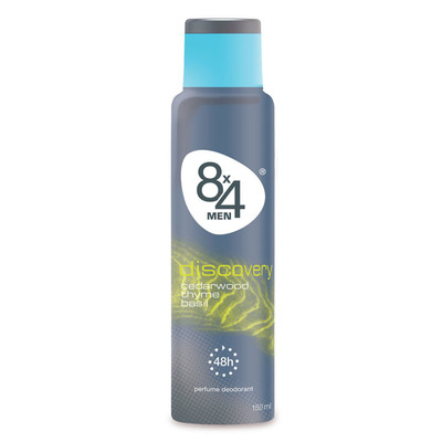 8x4 For men deospray discovery