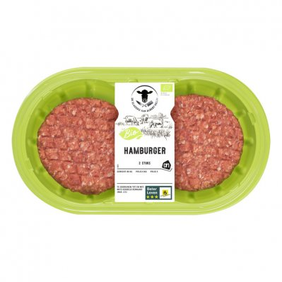 Huismerk Biologisch Hamburger