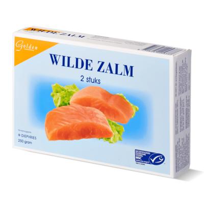 GOLDEN WILDE ZALMFILET 250GR