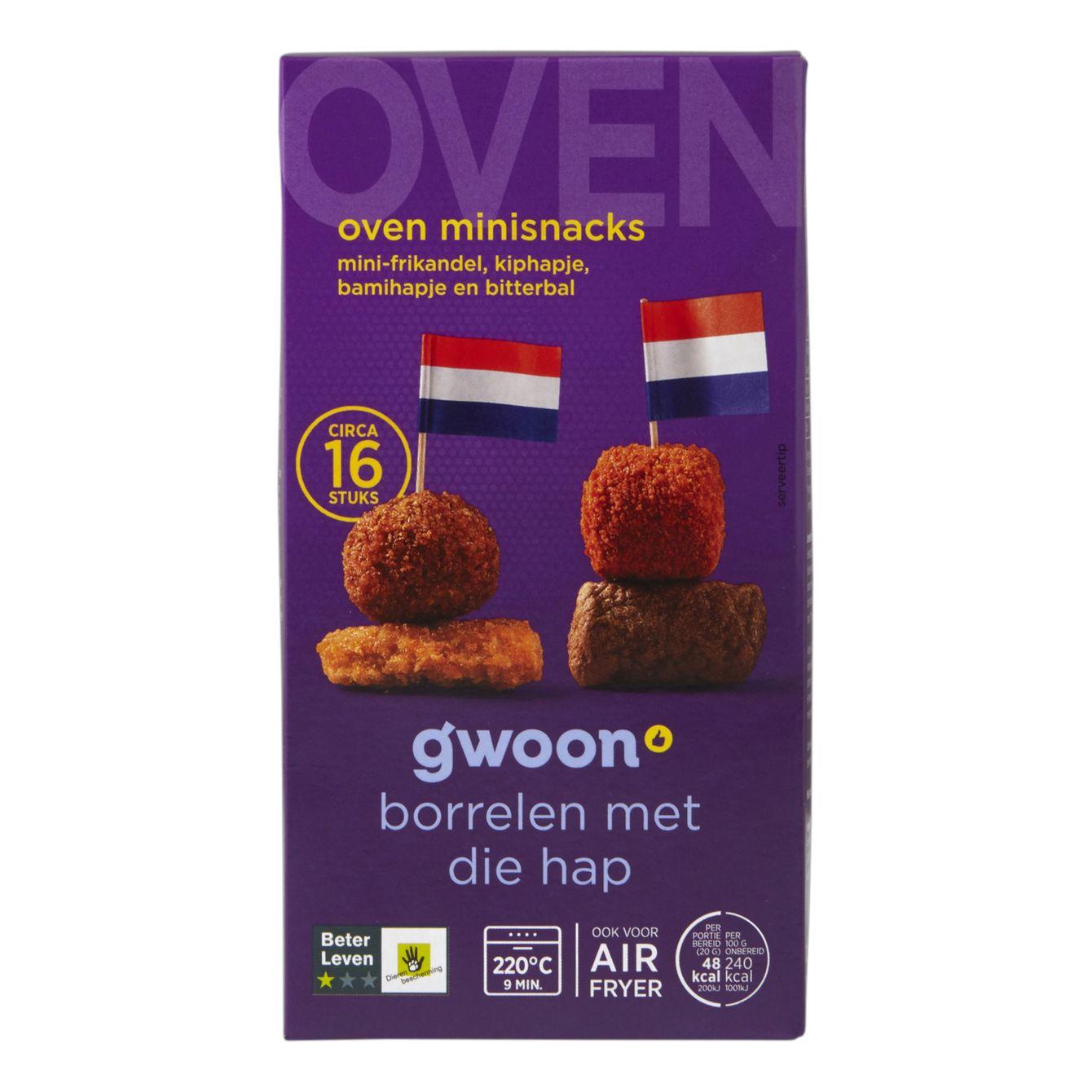 Huismerk Oven Mini Snacks