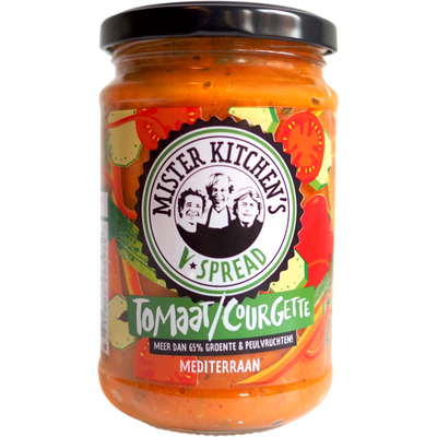 Mister Kitchen's V-Spread tomaat courgette