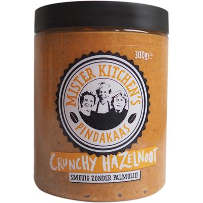 Mister Kitchen's Pindakaas crunchy hazelnoot