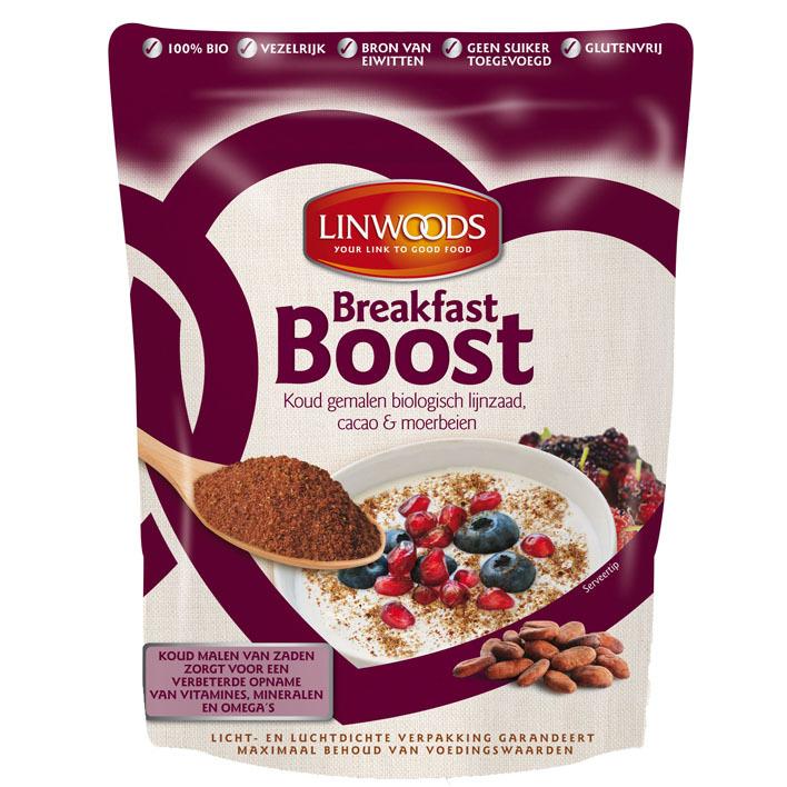 Linwoods Ontbijtverrijker met cacao