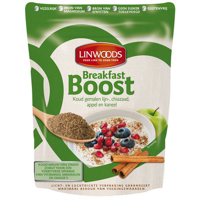 Linwoods Breakfast boost appel & kaneel