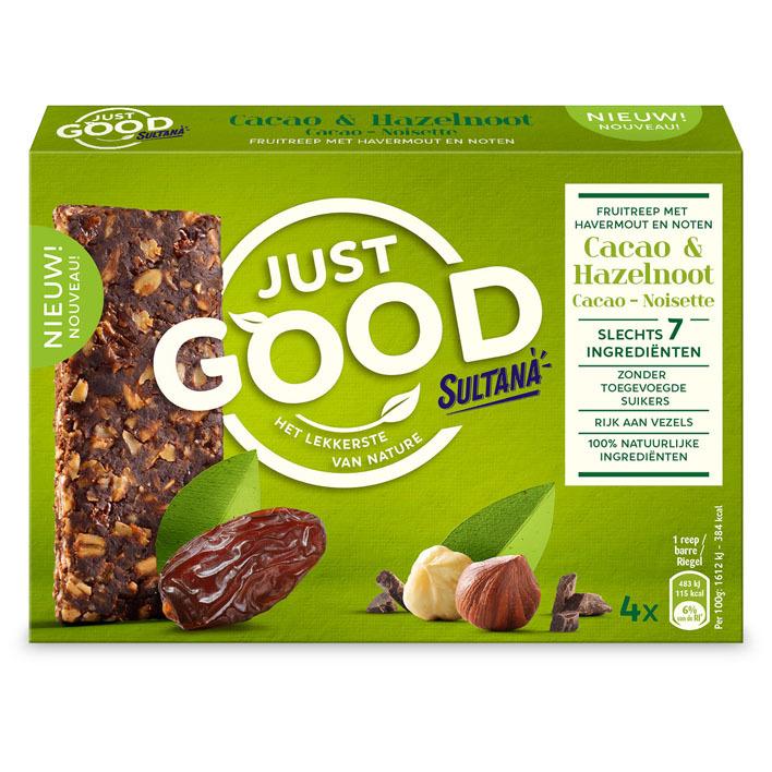 Sultana Just good cacao-hazelnoot