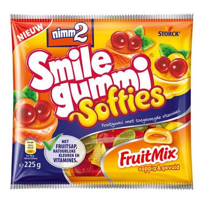 Smilegummi Softies fruit mix
