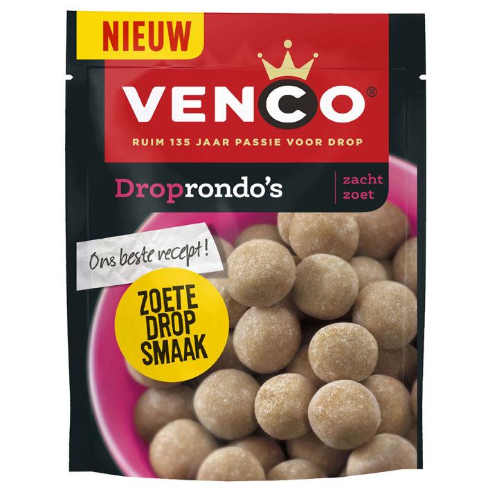 Venco Droprondo's zacht zoet