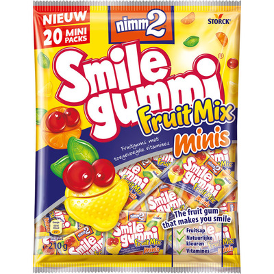 Smilegummi Fruitmix mini's