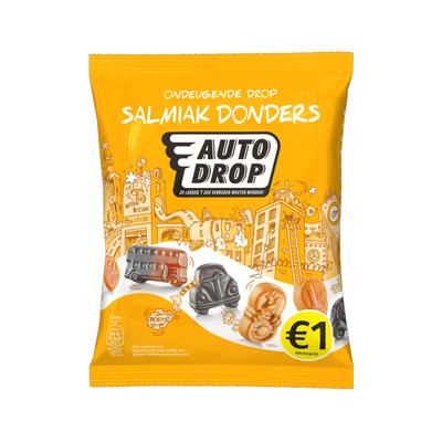 Autodrop Drop salmiak donders