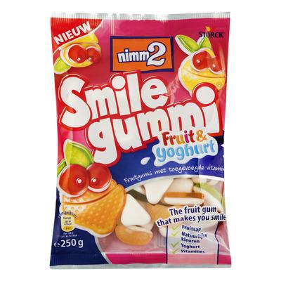 Smilegummi Fruit & yoghurt