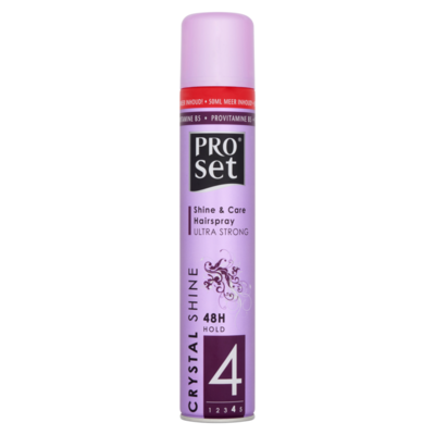 ProSet Crystal Shine Hairspray