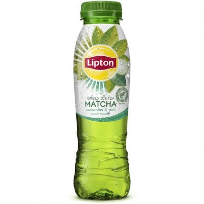 Lipton Ice tea green cucumber mint met matcha